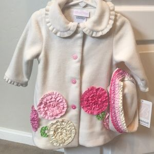 Brand new Bonnie Baby jacket (and hat) with tags!